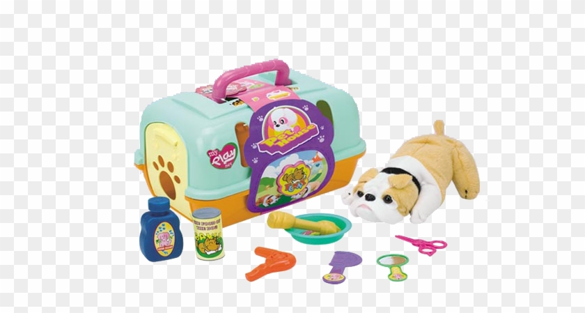 My Little Dog House/ Food Set - Pet In Carry Case #980480
