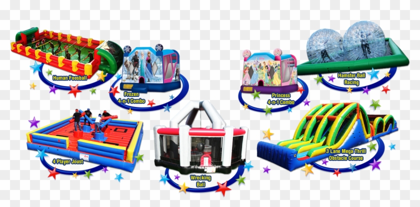 Bounce House Rentals - Ez Inflatables Wrecking Ball Bounce House - G180 #980509