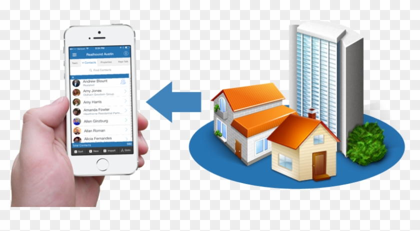 Linking Contacts With Properties 2 Commercial Real - Office Building Icon #980928