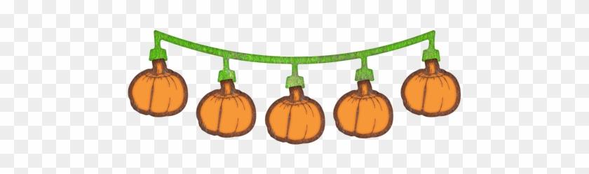"Cheery Lynn Designs Pumpkin Swag 3 Piece Die Set Cut - Cheery Lynn Designs Die-pumpkin Swag, 1""x3"" #981362"