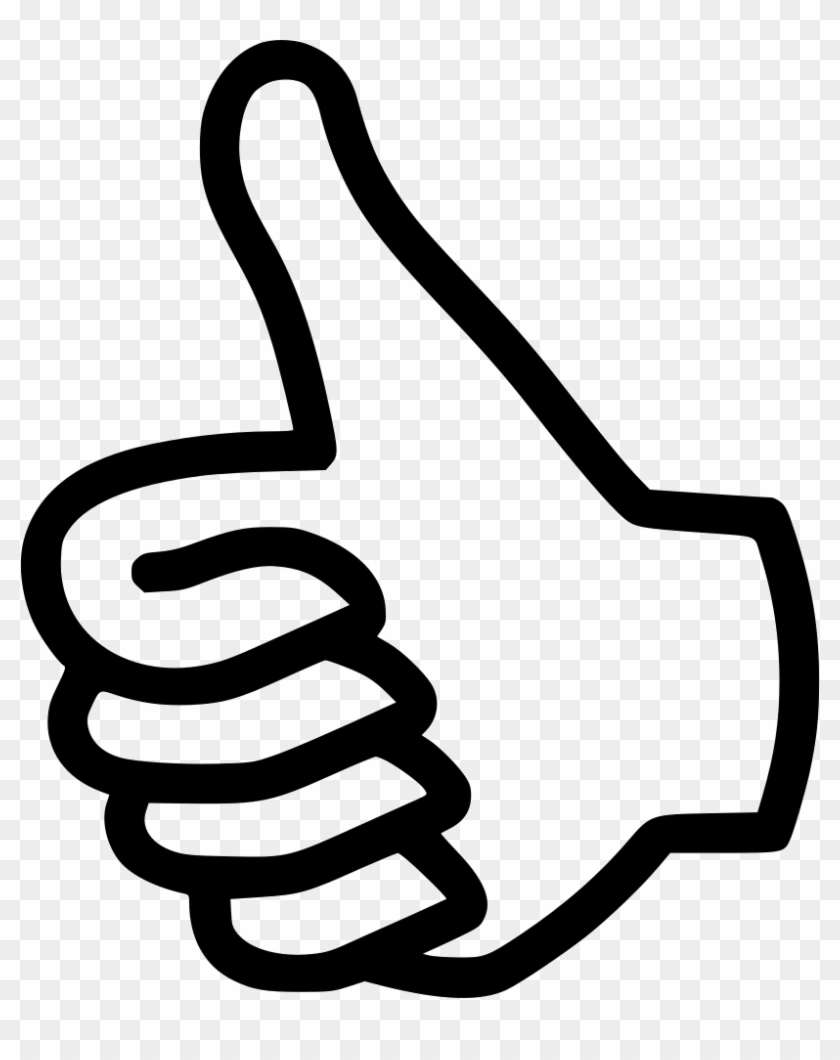 Like Thumbs Up Vote Comments - Thumbs Up Symbol #981439