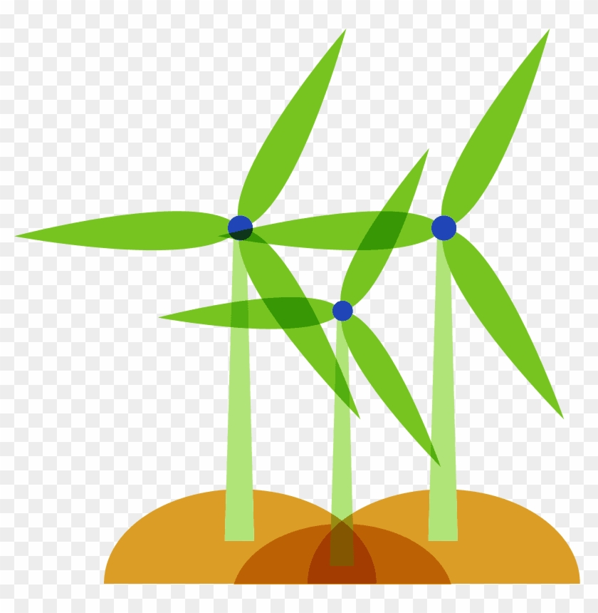Credits Are Purchased From The Power We Use And In - Wind Power #981577