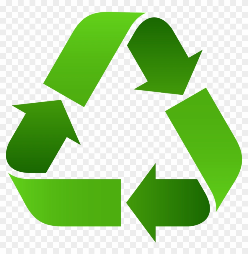 Know End Use - Recycling Symbol Green #981722