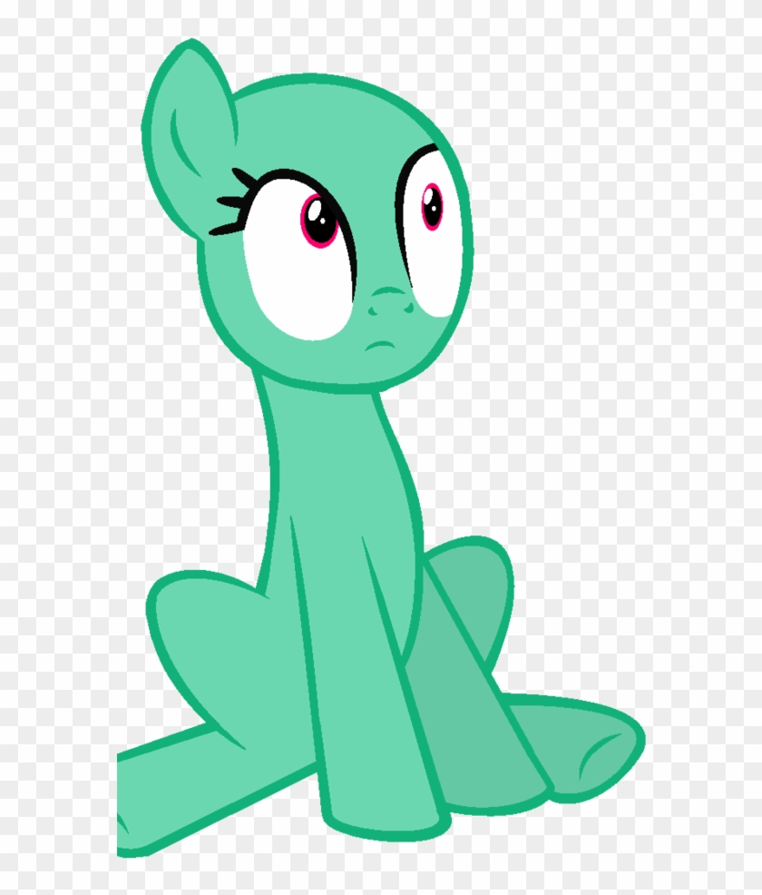 Sit Down Clip Art Design Medium Size - Mlp Pony Sitting Down #982279