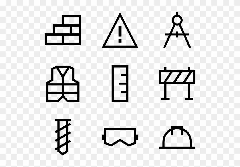 Construction Elements - Laundry Icon Line #982301