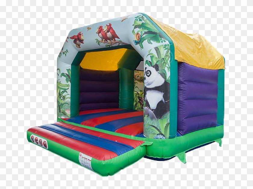 Jungle Theme Bouncy Castle - Bouncy Castle Hire #982557