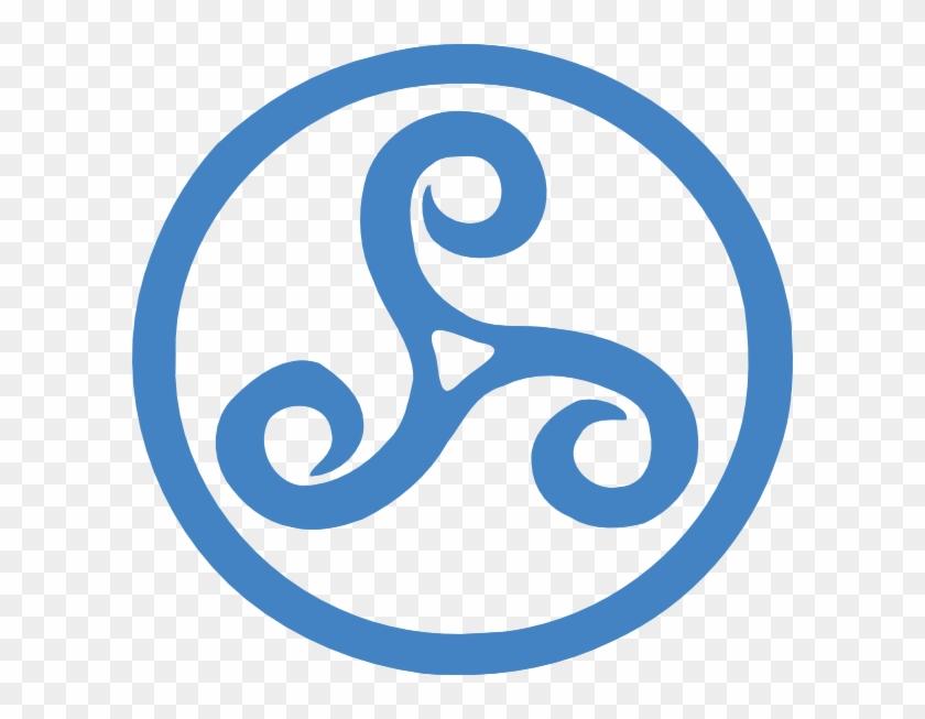 Triskel Clip Art - Symbols Of Brotherhood - Free Transparent
