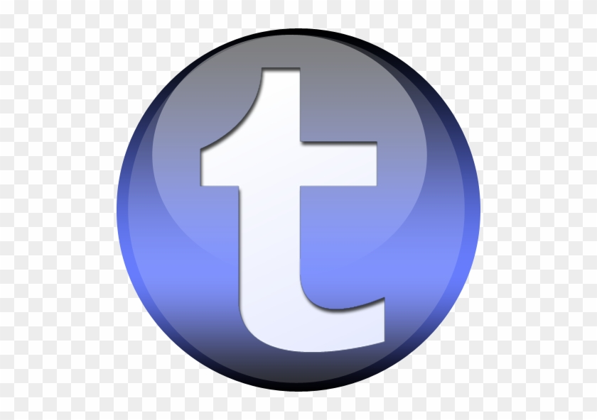 Tumblr Icon Circle Png - Blog - Free Transparent PNG Clipart