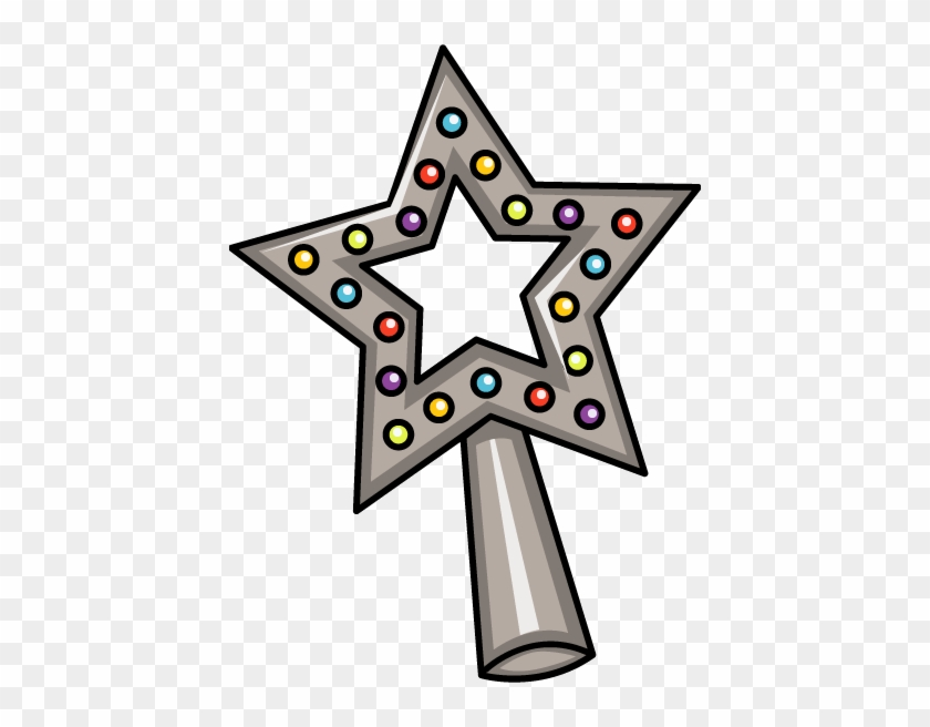 Star For Top Of Christmas Tree Clipart - Clip Art Christmas Tree Star #983421