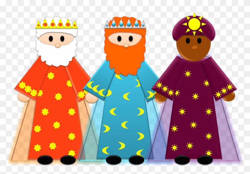 Magos Dia De Reyes Clipart