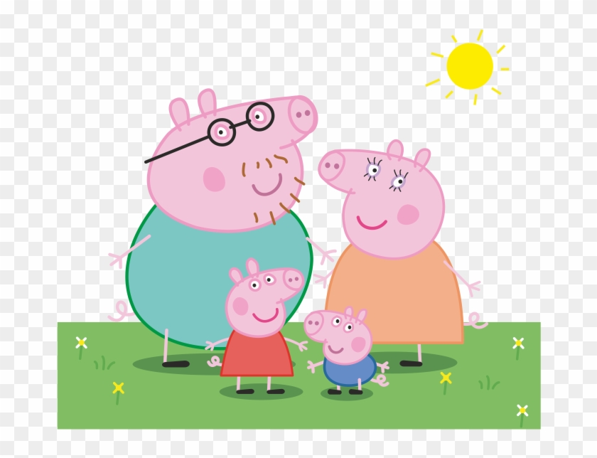 Daddy Pig Paultons Park Mummy Pig Children's Television - Peppa Pig Family Clip Art #983603