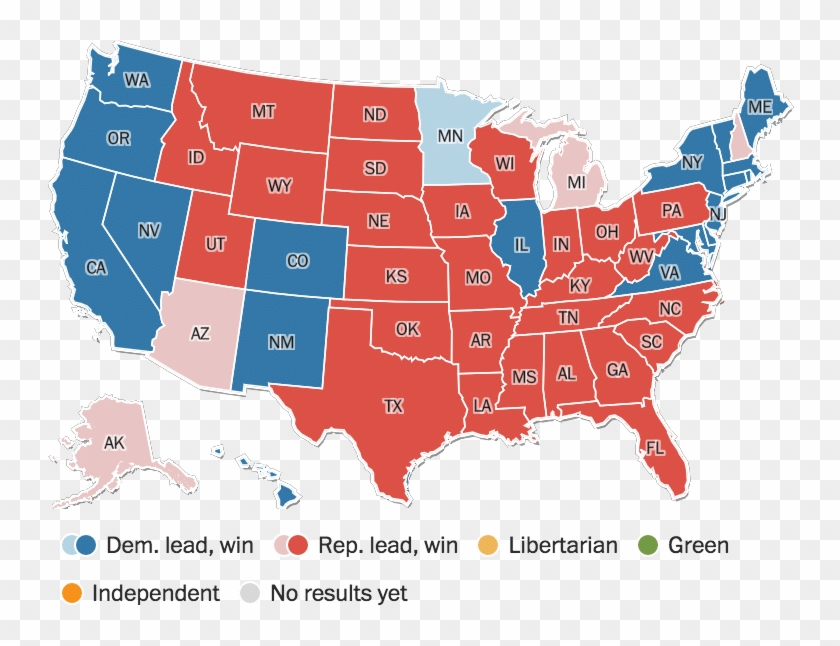 Map Of California Election Results.California Massachusetts And Nevada Voted To Legalize Trump