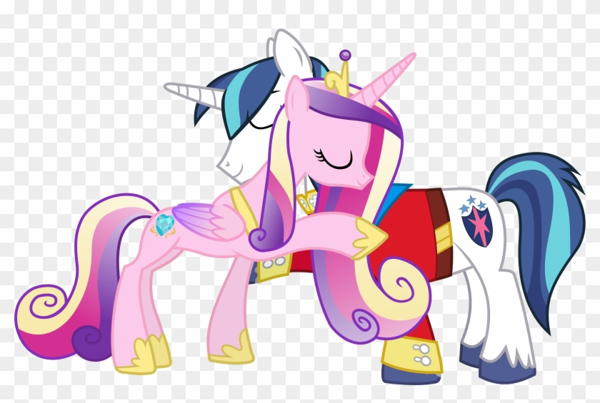 My Little Pony Prince Shining Armor And Princess Cadence