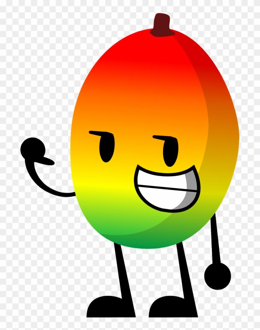 Mango - Bfdi Firey X Leafy - Free Transparent PNG Clipart