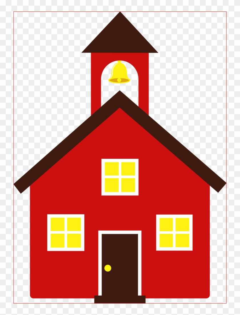School House Clipart Unique Free Panda Images Of - Red School House Clip Art #985024