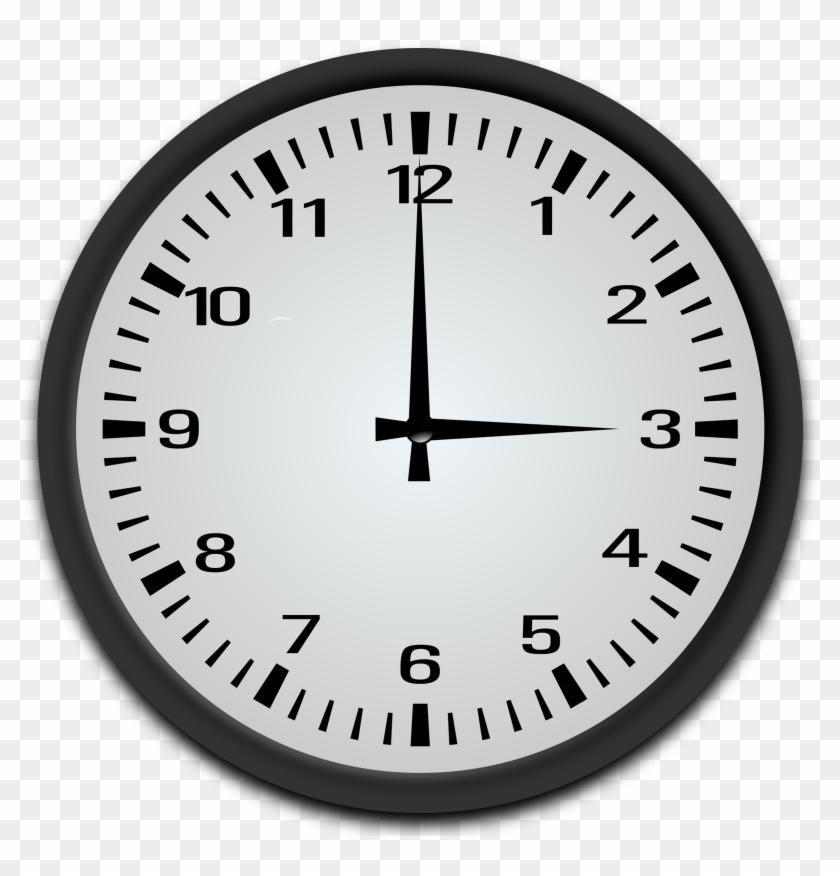 3 O Clock Clipart - 1 15 O Clock #985584