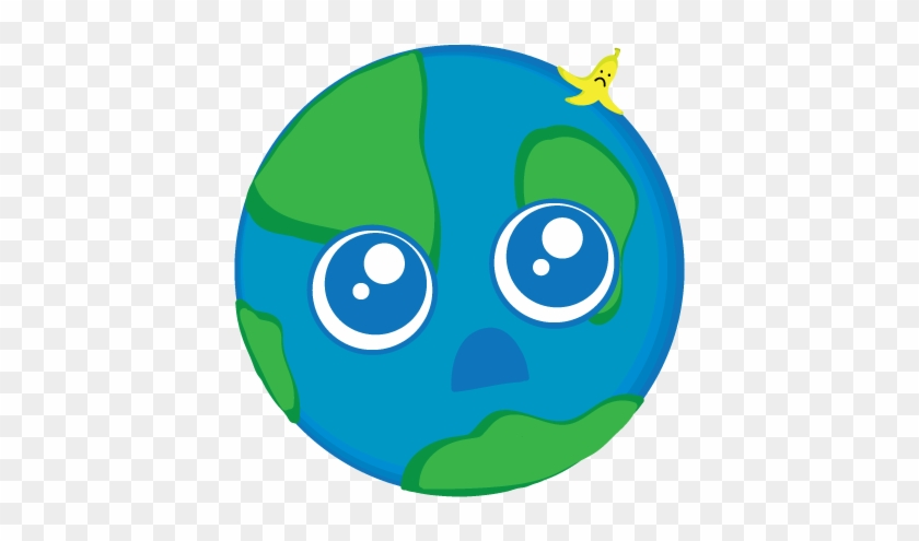 Sad Earth By Welikegroovyturtles - Cute Happy Earth Cartoon #986042