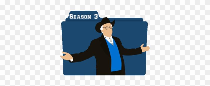 Rick And Morty Season 3 Folder Icon Image - Rick And Morty