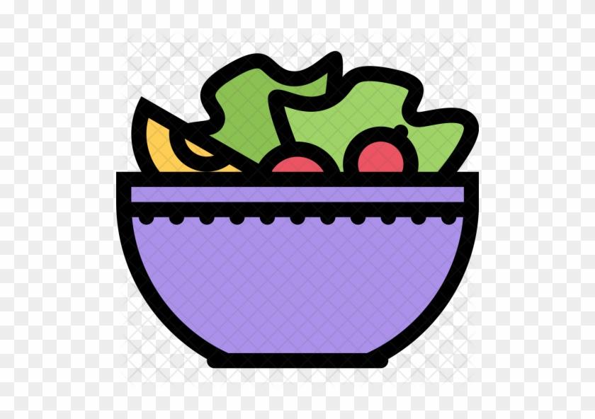 Salad, Kitchen, Cooking, Chef, Restaurant, Food Icon - Food #986889