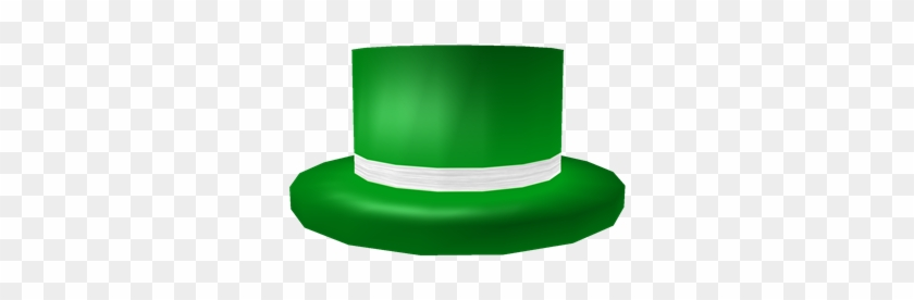 Green Top Hat With White Band Roblox Green Top Hat With White Band