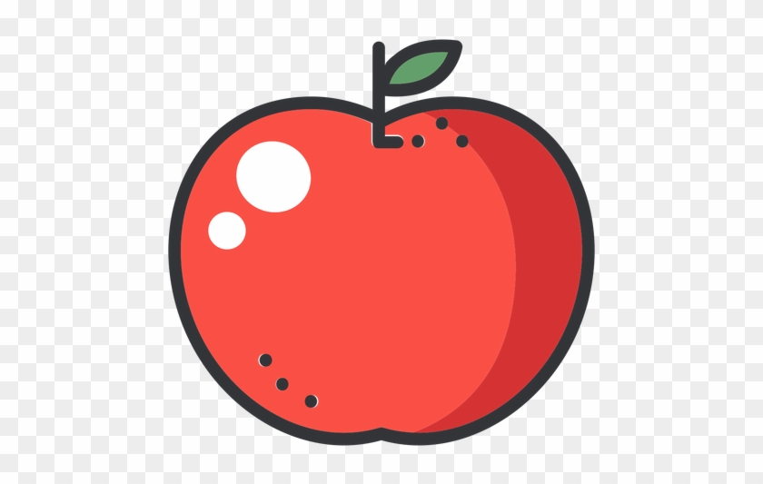Apple Color Stroke Icon Transparent Png Amp Svg Vector