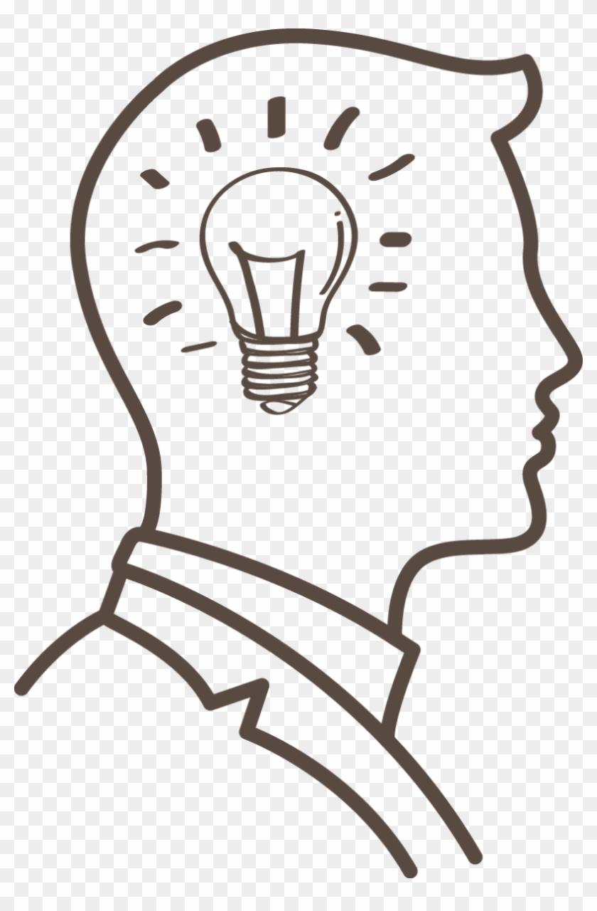 Memory Improvement Brain Cognitive Training Clip Art - Thinking Head  Clipart #987412
