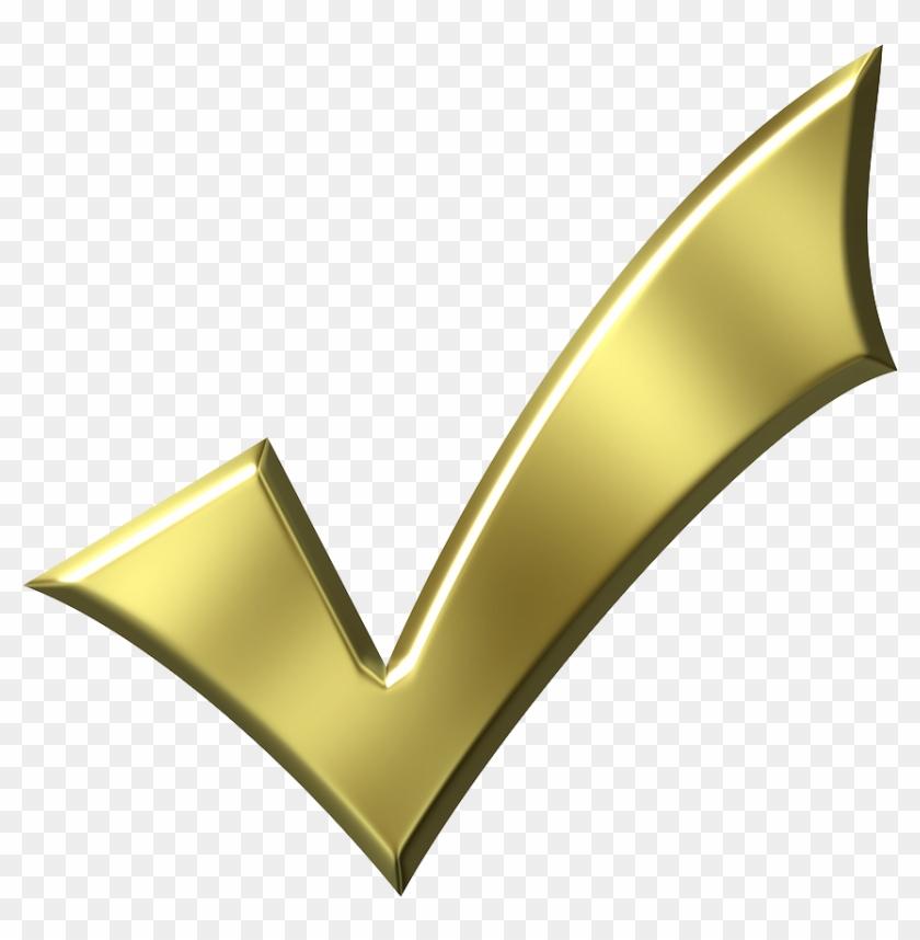 Check Mark Checkbox Royalty-free Clip Art - Gold Check Mark Png@clipartmax.com