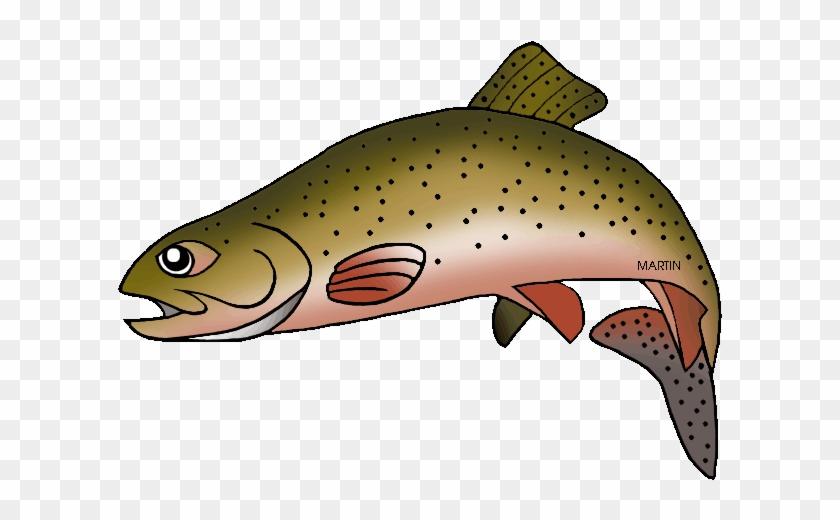 Trout Clipart - Greenback Cutthroat Trout Cartoon #989300