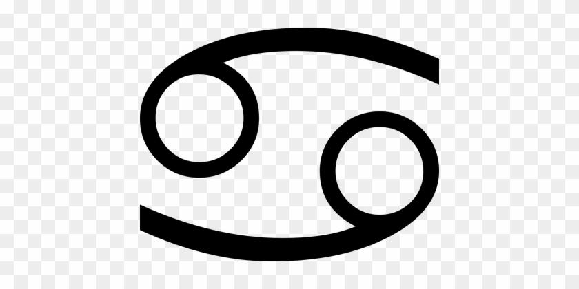 Sign Symbol Astrology Horoscope Constellat - Cancer Zodiac Sign #989697