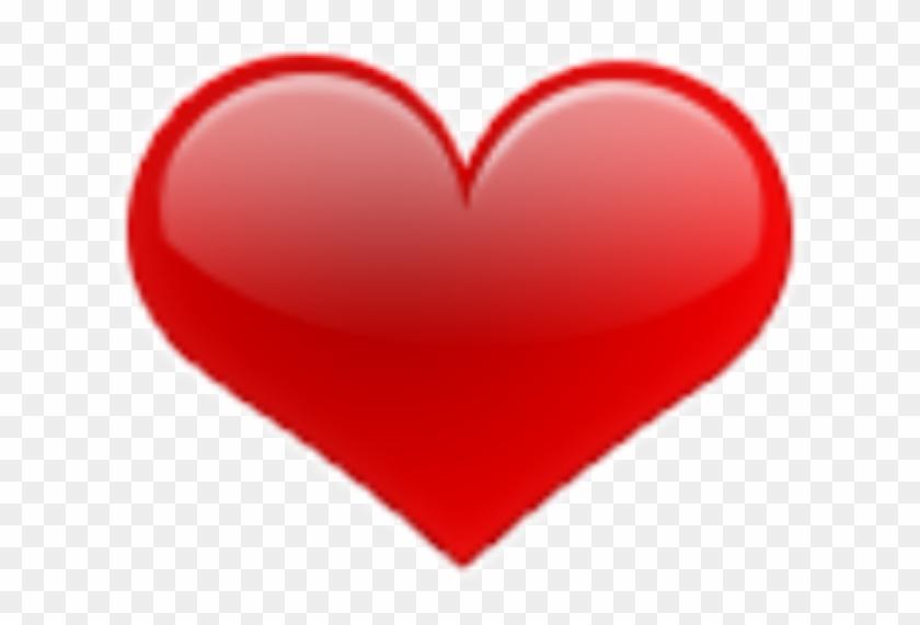 Red Rojo Corazones Corazon Hearts Emoji - Big Heart Emoji #989933