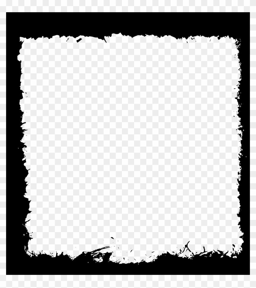 Square Black Frame Png - Grunge Frame Clip Art - Free Transparent ...