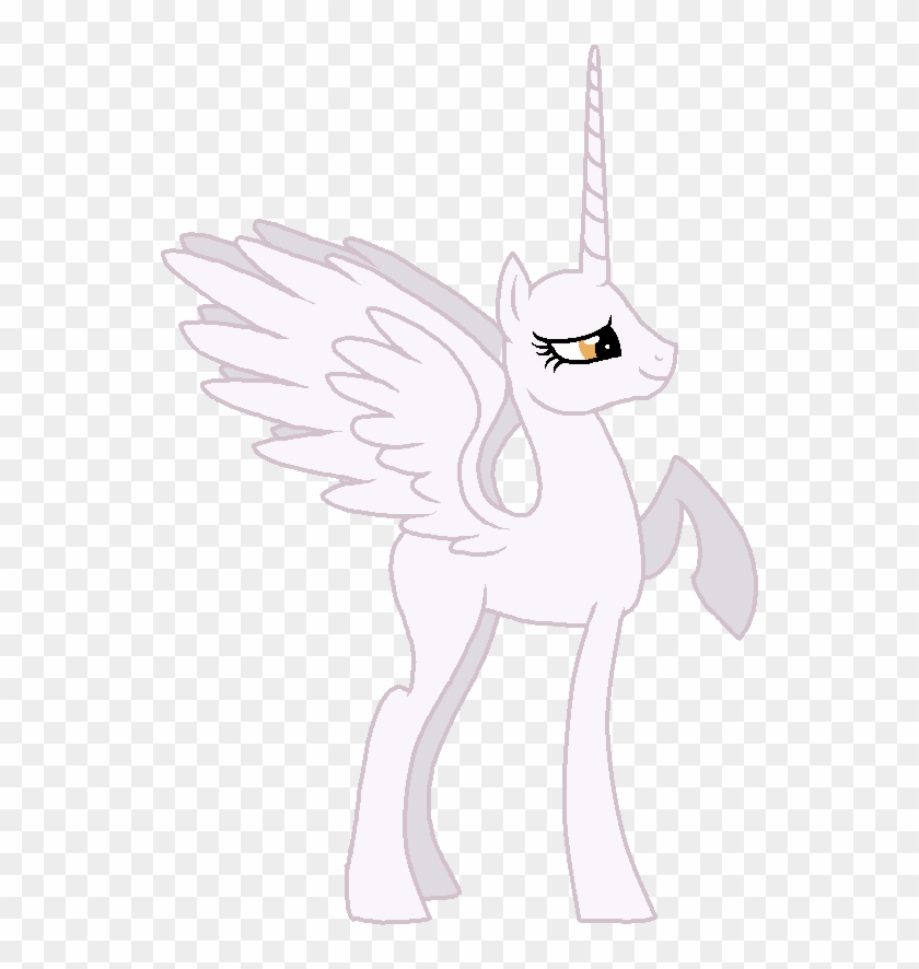 Mlp Alicorn Base White 139675 King Free Transparent Png Clipart
