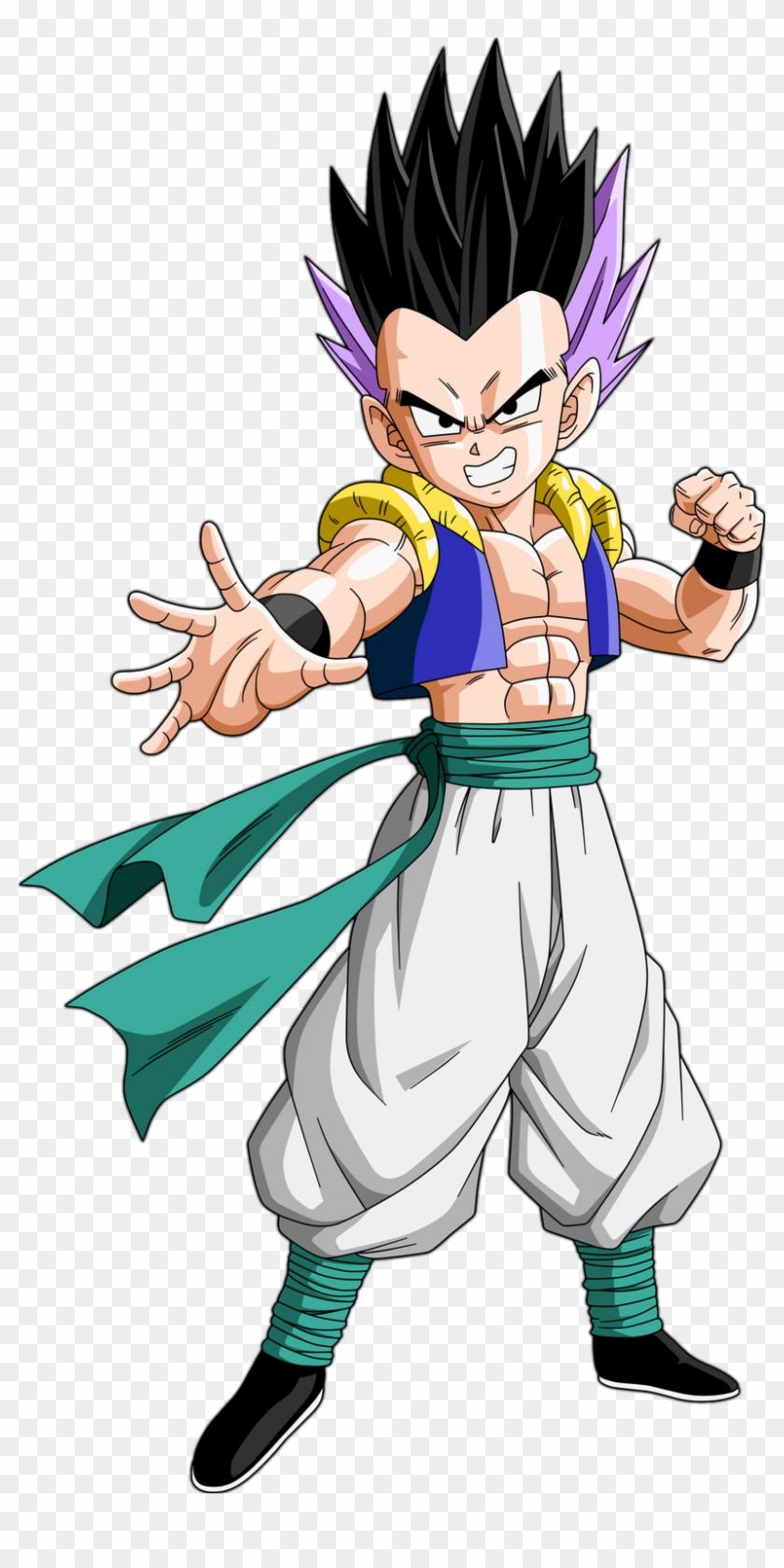 Gotenks - Dragon Ball Z Goten And Trunks Fusion - Free ...