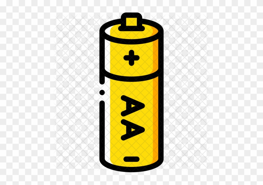 Aa Battery Icon Aa Battery Free Transparent Png Clipart Images