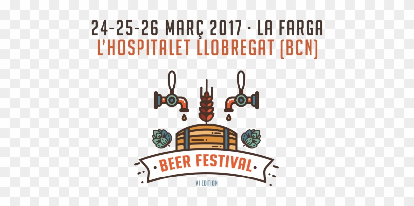 Image Of The Poster Of The 6th Edition Of Barcelona - Beer Festival Barcelona 2017 #992563