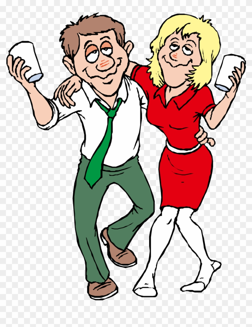 Alcohol Intoxication Free Content Clip Art - Drunk Couple Cartoon ...