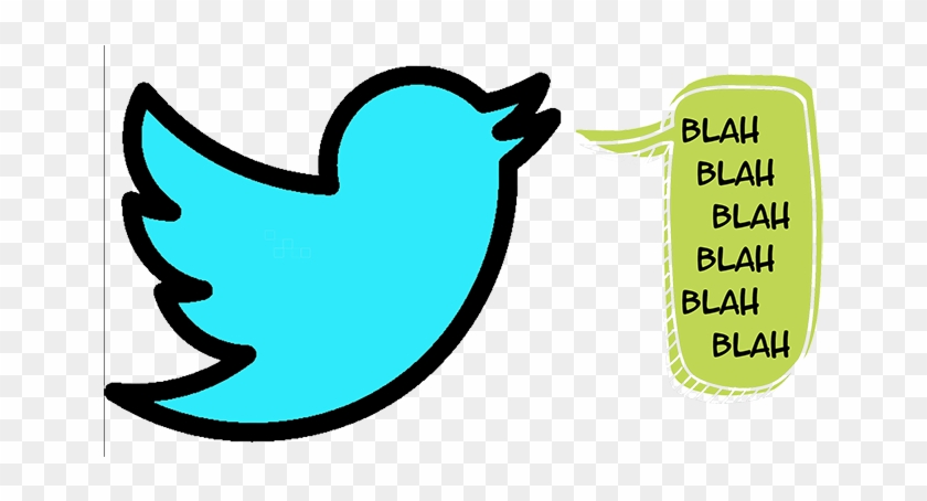There's Not Much You Can Say In A Few Characters - Social Media Icon Twitter #992759