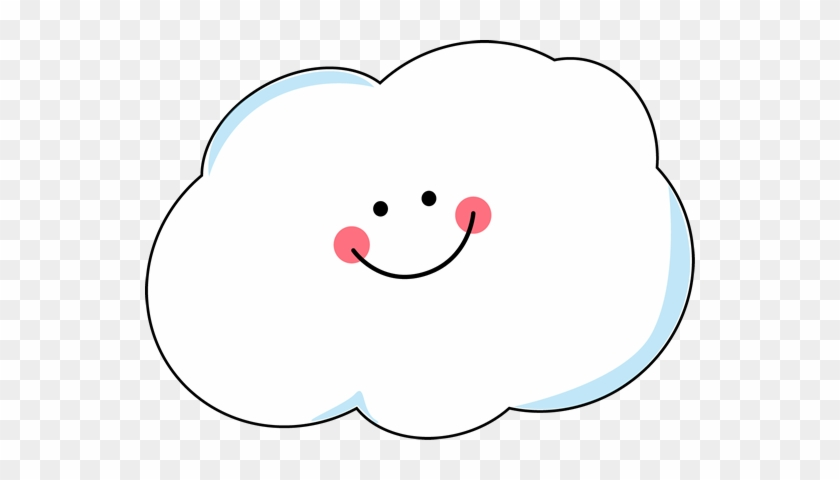 Happy Cloud Clip Art Cloud With Happy Face Free Transparent Png