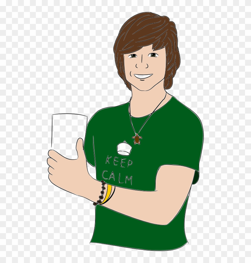 Free Thumbs Up Free Thumbs Up - Young Man Cartoon Png #993143