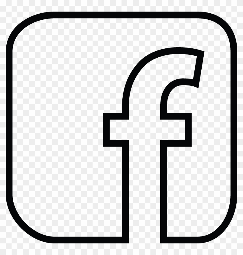 facebook logo clipart black and white - facebook vector logo white - free  transparent png clipart images download  clipartmax