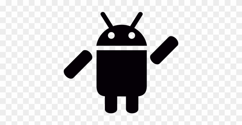 android with left arm up vector - android app vector - free transparent png  clipart images download  clipartmax