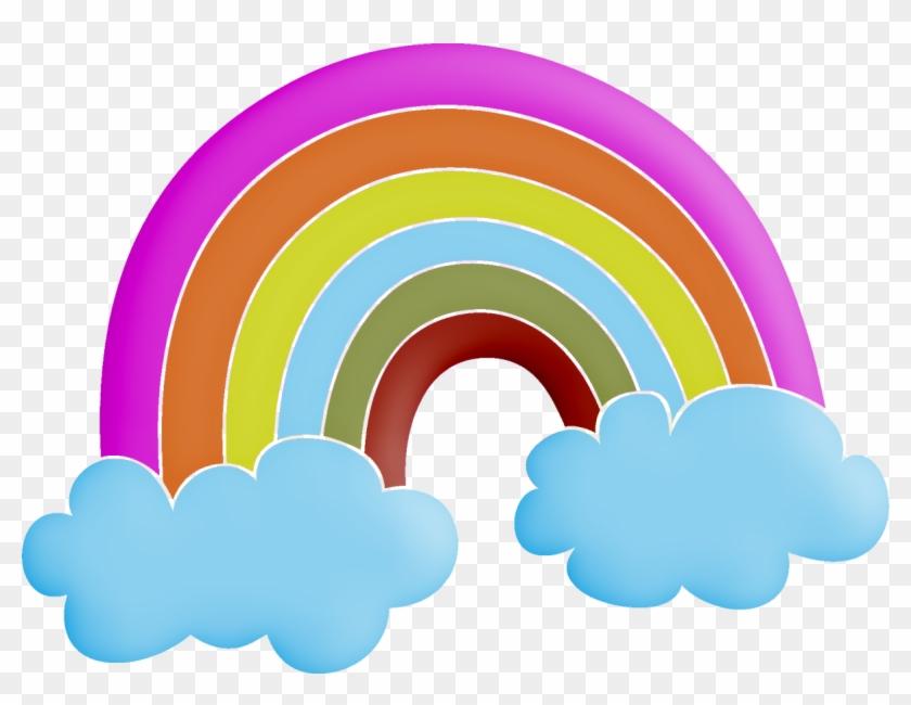 Rainbow Clip Art - Arco Iris Png Minus #994176