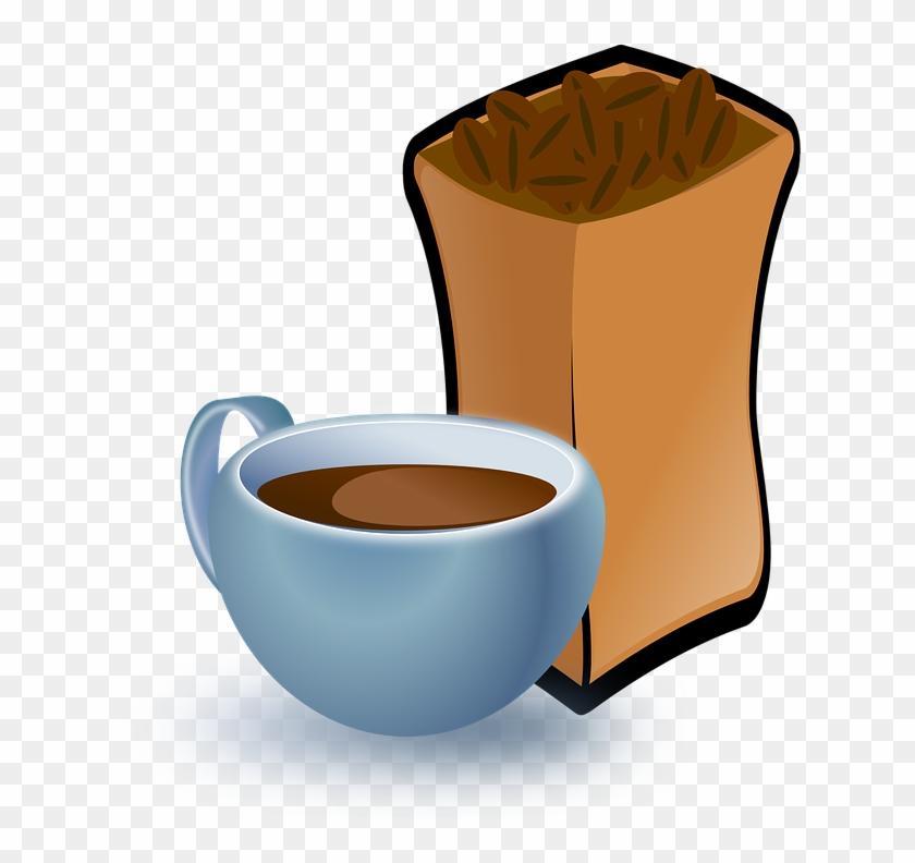 Cartoon, Hot, Free, Coffee, Drink, Sack, Beverage - Coffee Beans Clip Art #174121