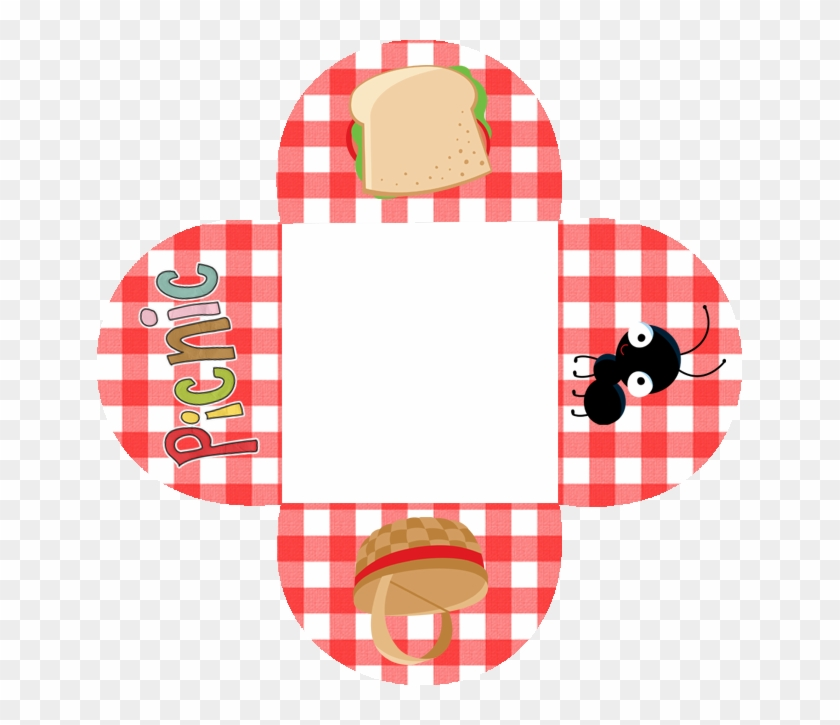 Picnic Free Party Printables And Boxes - Convite Picnic Para Imprimir #174156