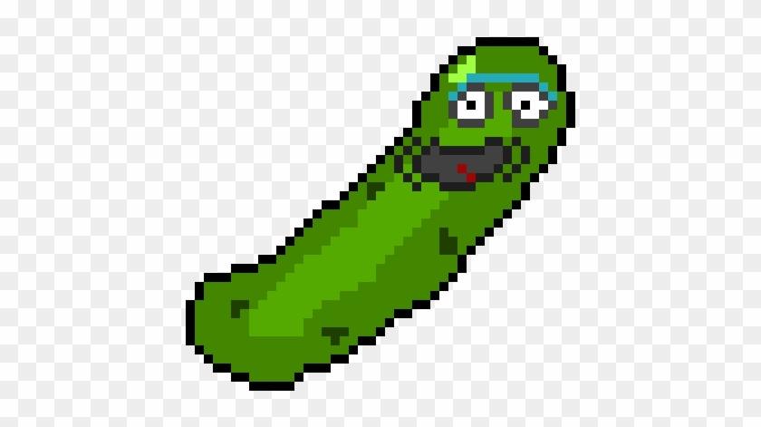 Pickle Rick - Pickle Rick Perler Bead #174192