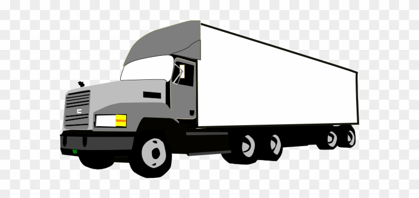 Semi Truck Clip Art #174257