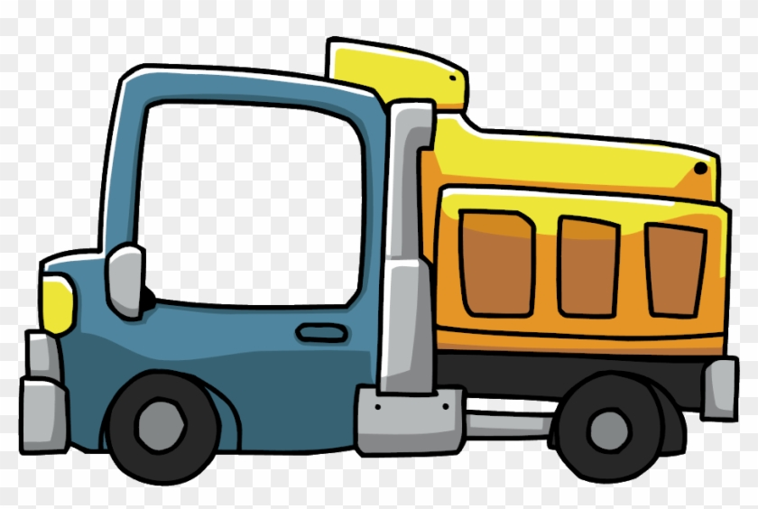 Picture Of Dump Truck Free Download Clip Art Free Clip - Dump Truck Cartoon Png #174277