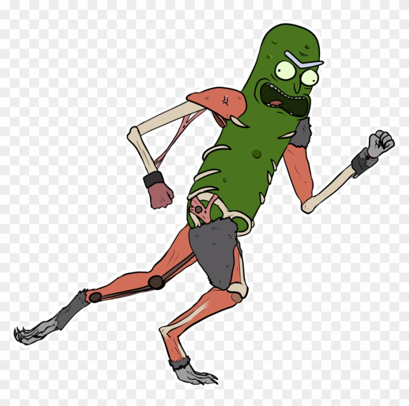 Pickle Rick By Blackstonethekitty56 - Pickle Rick In Rat Suit #174322