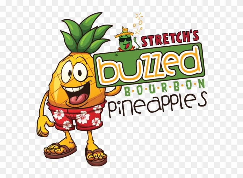 Buzzed Bourbon Pineapples - Flip Flops #174418