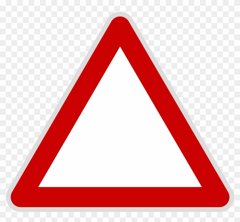 Triangle Clipart Svg - Warning Triangle Sign #174500